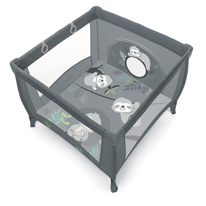 BabyDesign PLAY UP KOALA 17/graphite Saliekamā manēža