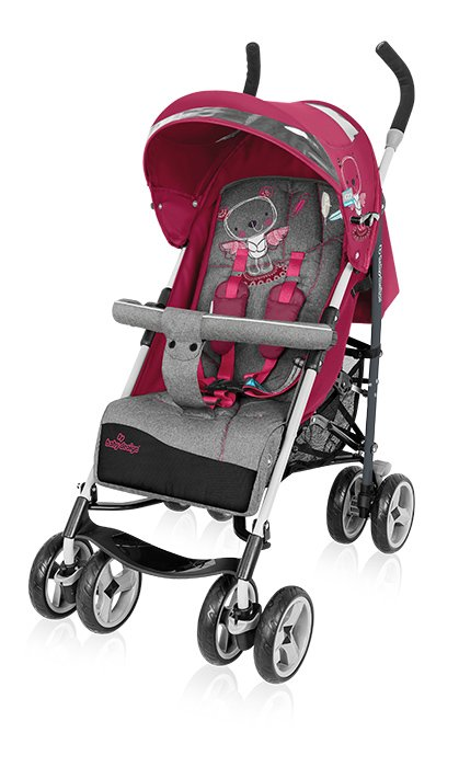 BabyDesign TRAVEL QUICK 08 pink Pastaigu rati