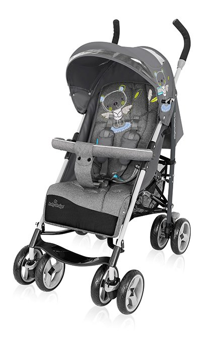 BabyDesign TRAVEL QUICK 17 graphite Pastaigu rati