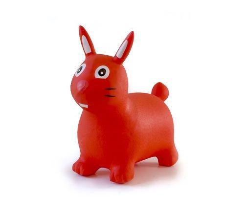 Babygo'15 Hopser Red Rabbit Bērnu šūpūlītis lēkšanai
