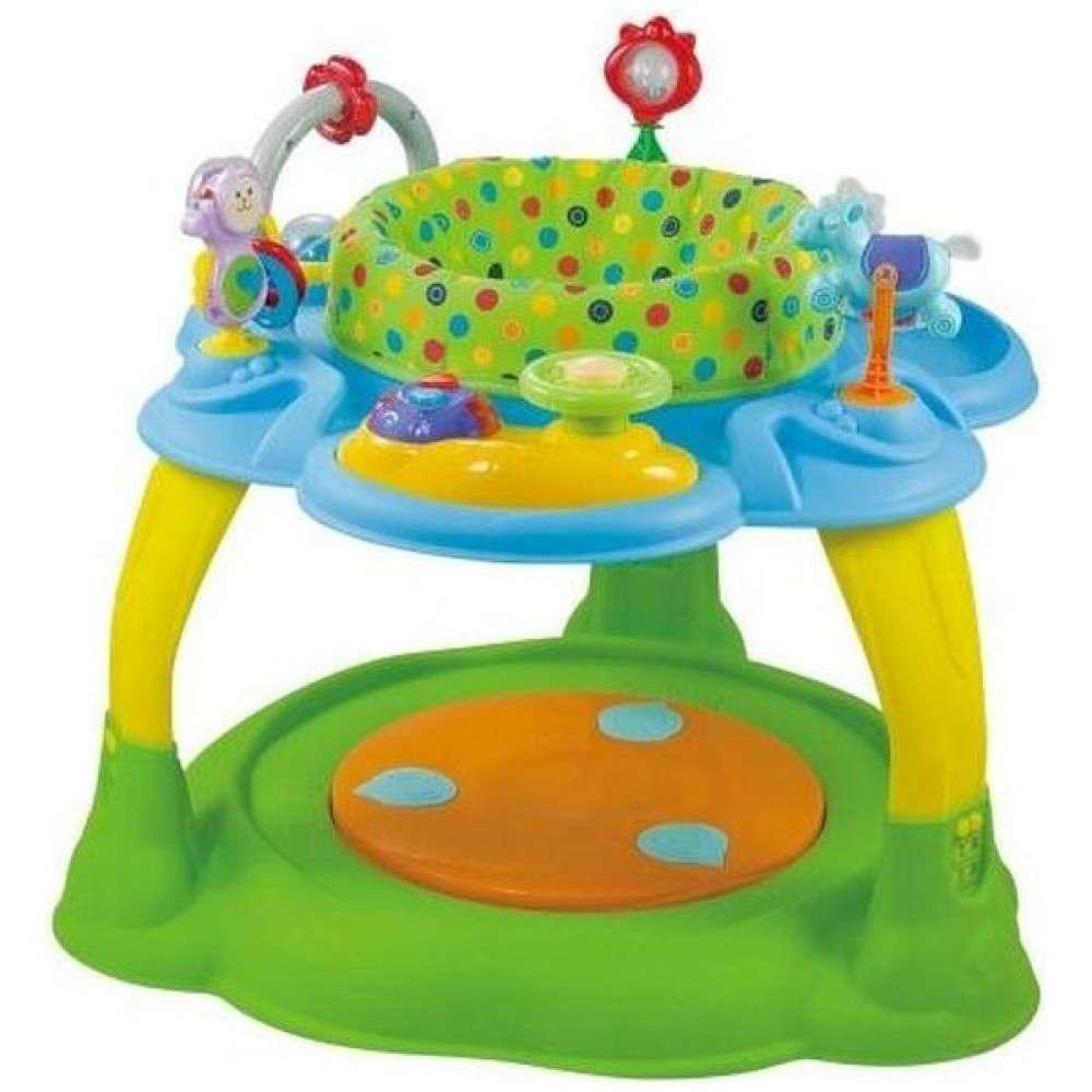 Babymix Green Daudzfunkcionālais attīstošais galdiņš