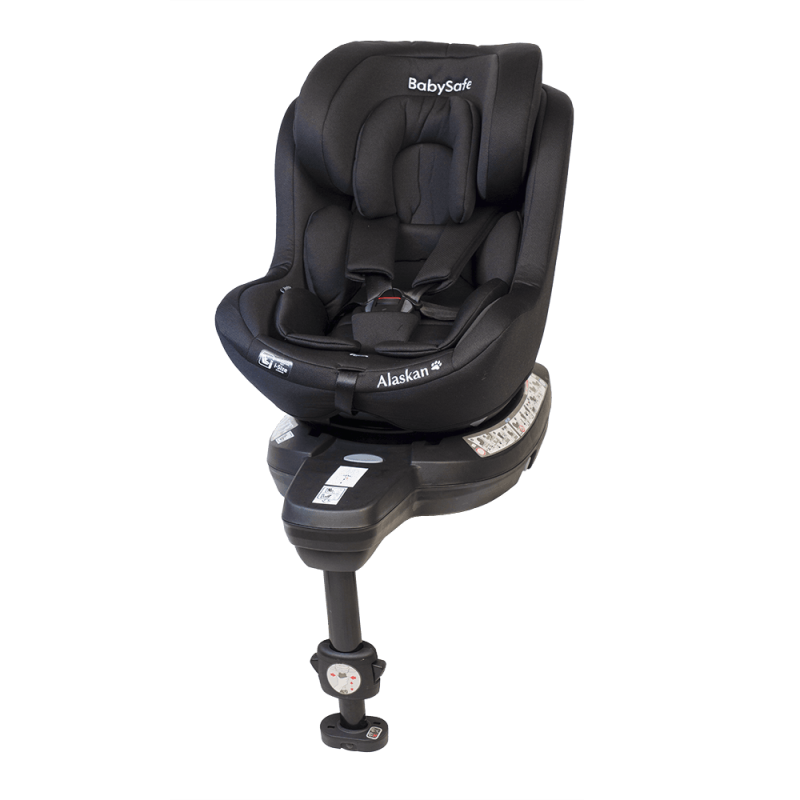 BabySafe Alaskan Black Bērnu autosēdeklis 0-18 kg