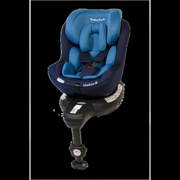 BabySafe Alaskan Blue Bērnu autosēdeklis 0-18 kg