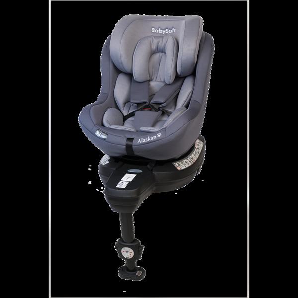 BabySafe Alaskan Grey Bērnu autosēdeklis 0-18 kg
