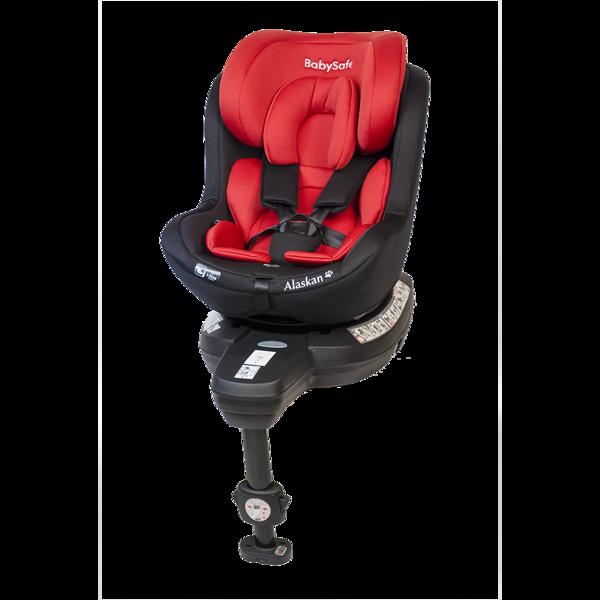 BabySafe Alaskan Red black Bērnu autosēdeklis 0-18 kg