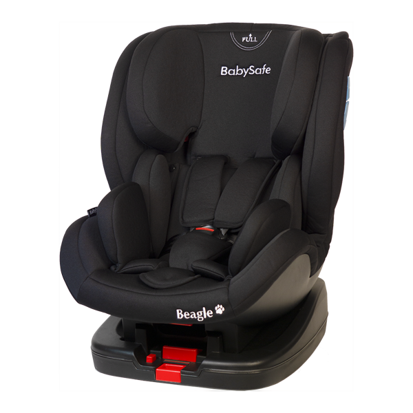 BabySafe Beagle Black Bērnu autosēdeklis 0-25 kg