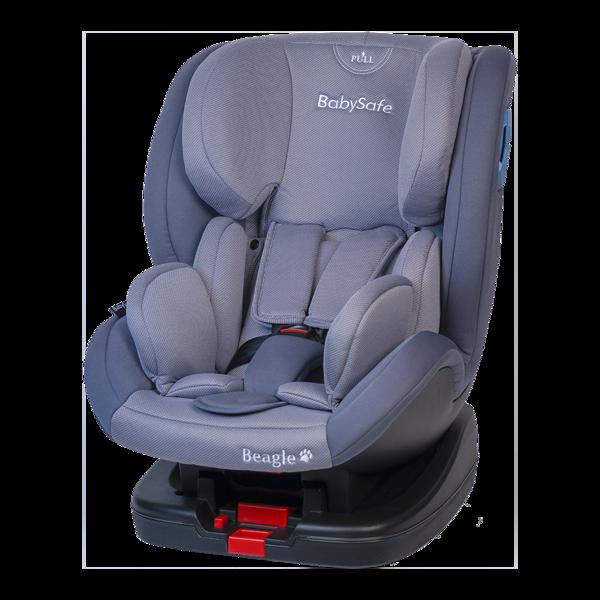 BabySafe Beagle Grey Bērnu autosēdeklis 0-25 kg