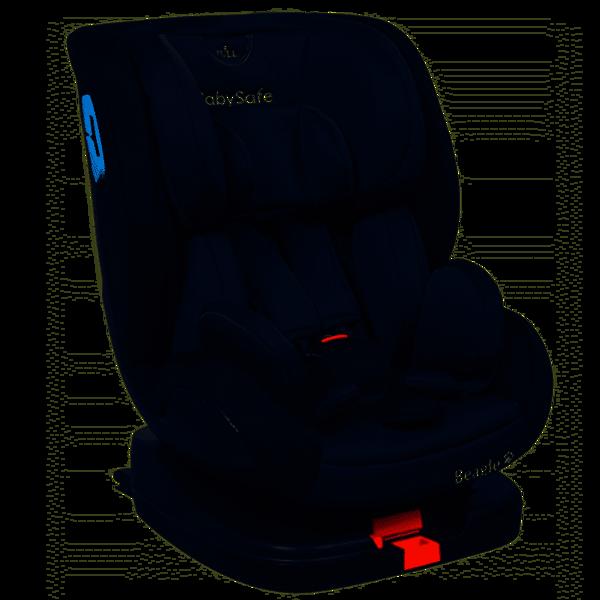 BabySafe Beagle Grey black Bērnu autosēdeklis 0-25 kg