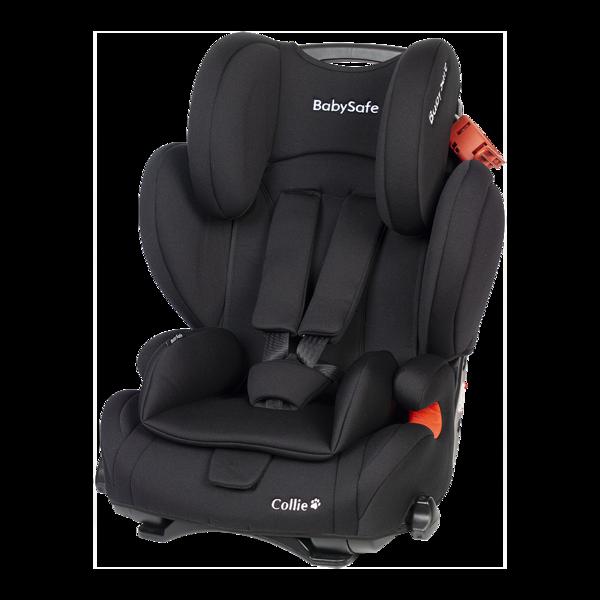 BabySafe Collie Black Bērnu autosēdeklis 9-36 kg