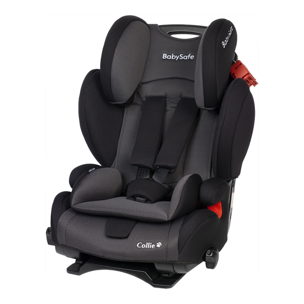 BabySafe Collie Black grey Bērnu autosēdeklis 9-36 kg