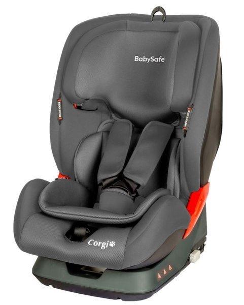 BabySafe Corgi Grey Bērnu autosēdeklis 9-36 kg