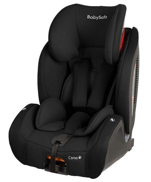 BabySafe Corso Black Bērnu autosēdeklis 9-36 kg