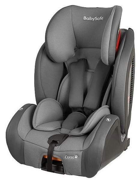 BabySafe Corso Grey Bērnu autosēdeklis 9-36 kg
