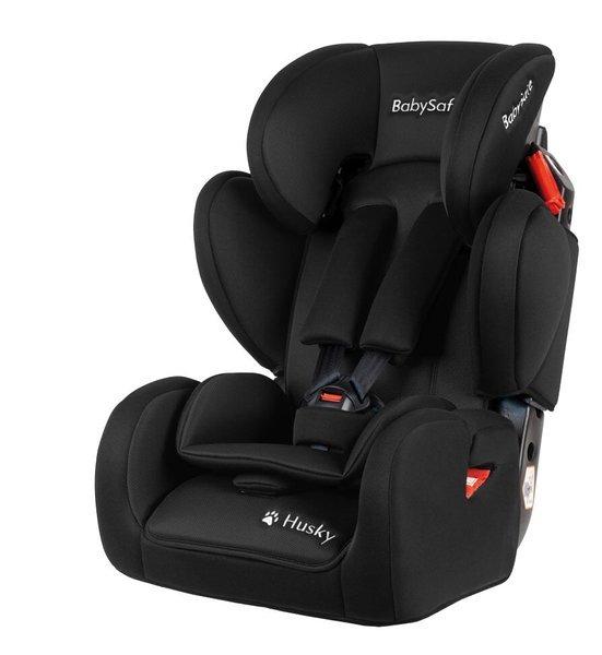 BabySafe Husky Black Bērnu autosēdeklis 9-36 kg