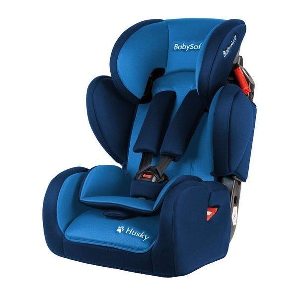 BabySafe Husky Blue Bērnu autosēdeklis 9-36 kg