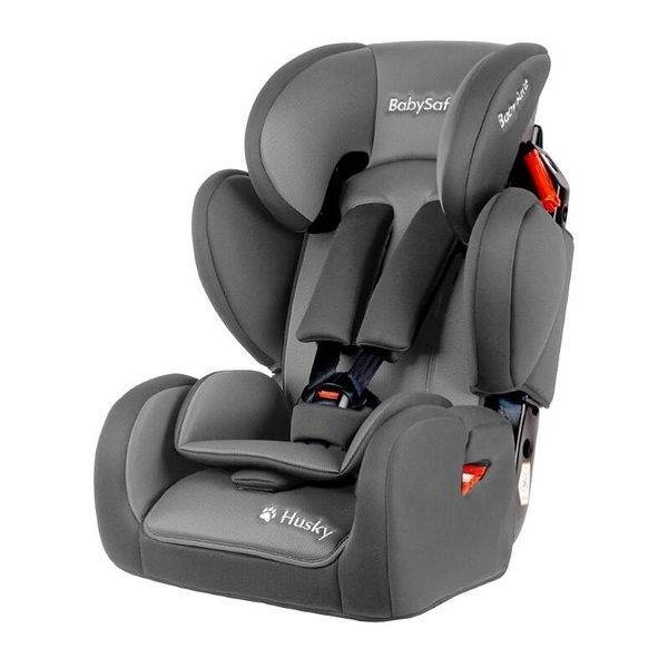 BabySafe Husky Grey Bērnu autosēdeklis 9-36 kg