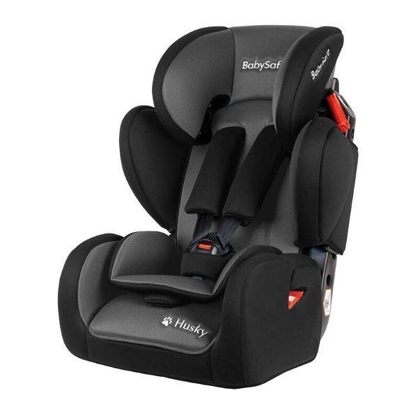 BabySafe Husky Grey black Bērnu autosēdeklis 9-36 kg