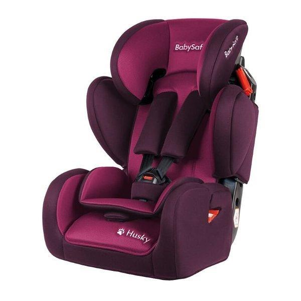 BabySafe Husky Pink violet Bērnu autosēdeklis 9-36 kg