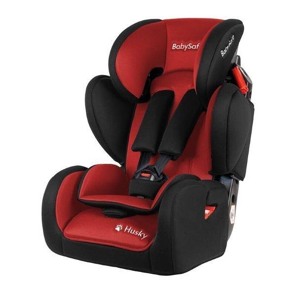 BabySafe Husky Red black Bērnu autosēdeklis 9-36 kg