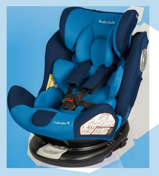 BabySafe Labrador Blue Bērnu autosēdeklis 0-36 kg