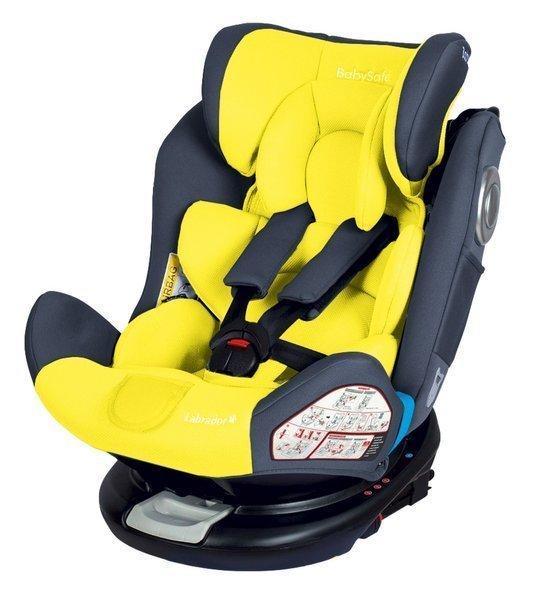 BabySafe Labrador Yellow grey Bērnu autosēdeklis 0-36 kg
