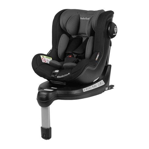 BabySafe Rhodesian Grey black Bērnu autosēdeklis 0-18 kg