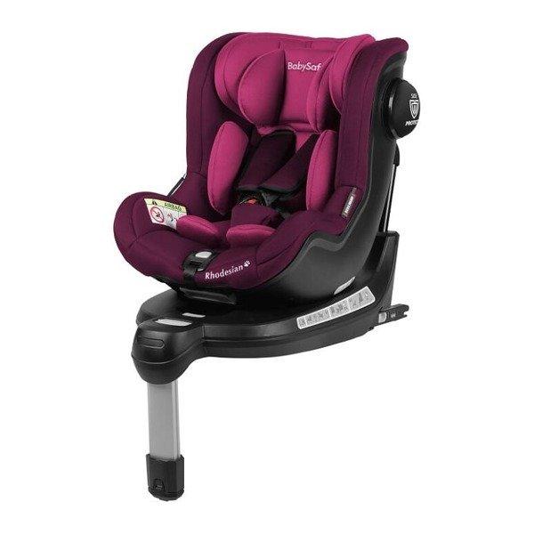 BabySafe Rhodesian Pink violet Bērnu autosēdeklis 0-18 kg