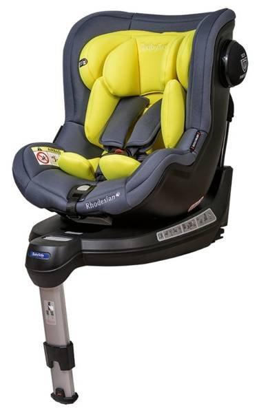 BabySafe Rhodesian Yellow grey Bērnu autosēdeklis 0-18 kg