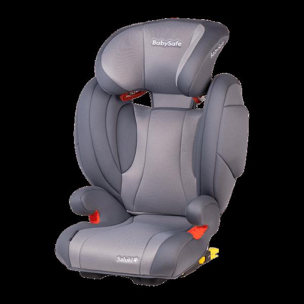 BabySafe Saluki Grey Bērnu autosēdeklis 15-36 kg