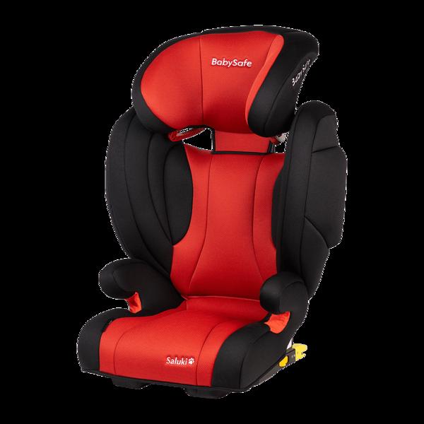 BabySafe Saluki Red black Bērnu autosēdeklis 15-36 kg