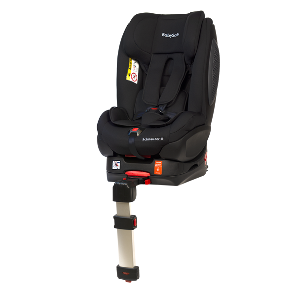 BabySafe Schnauzer Black + Base ISOFIX Bērnu autosēdeklis 0-18 kg