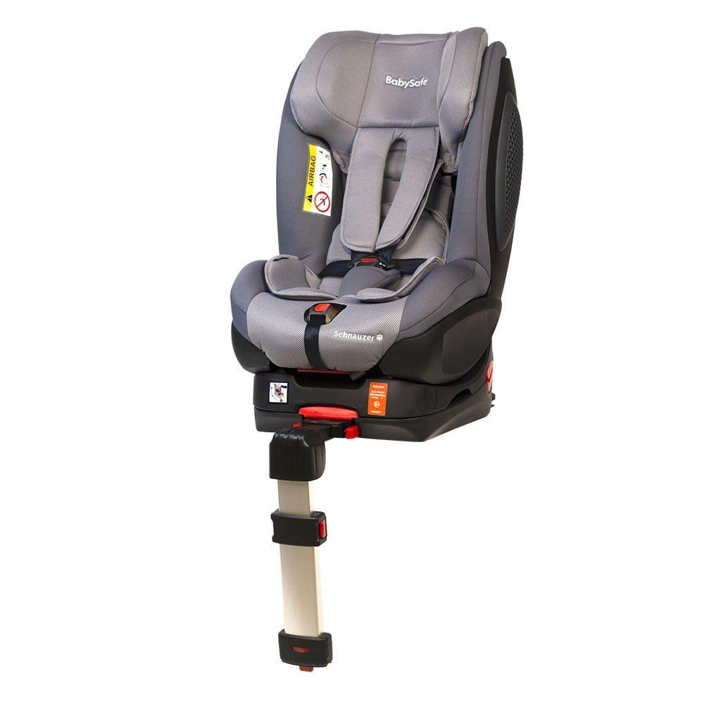 BabySafe Schnauzer Grey + Base ISOFIX Bērnu autosēdeklis 0-18 kg