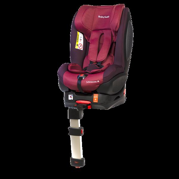 BabySafe Schnauzer Pink Violet + Base ISOFIX Bērnu autosēdeklis 0-18 kg
