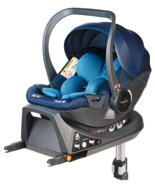 Babysafe York I-size Blue + ISOFIX Base Bērnu autosēdeklis 0-13 kg