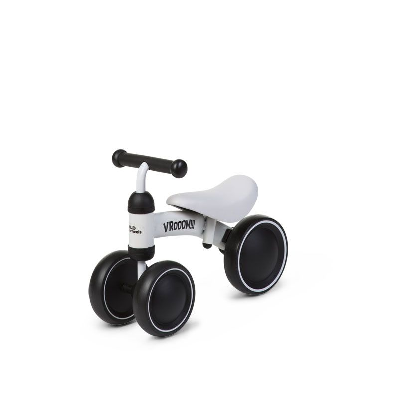 Balansa ritenis CHILDHOME Baby Bike Vroom white