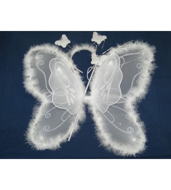 Baltie spārniņi ar aksesuāriem ZRPIE16011