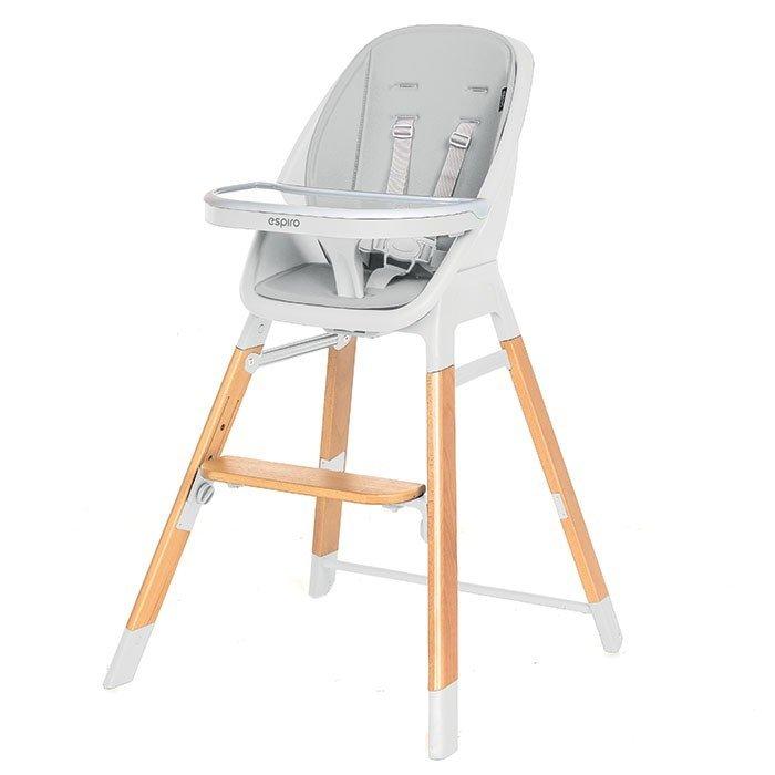 Barošanas krēsls 4 in 1 Espiro SENSE 07 white grey
