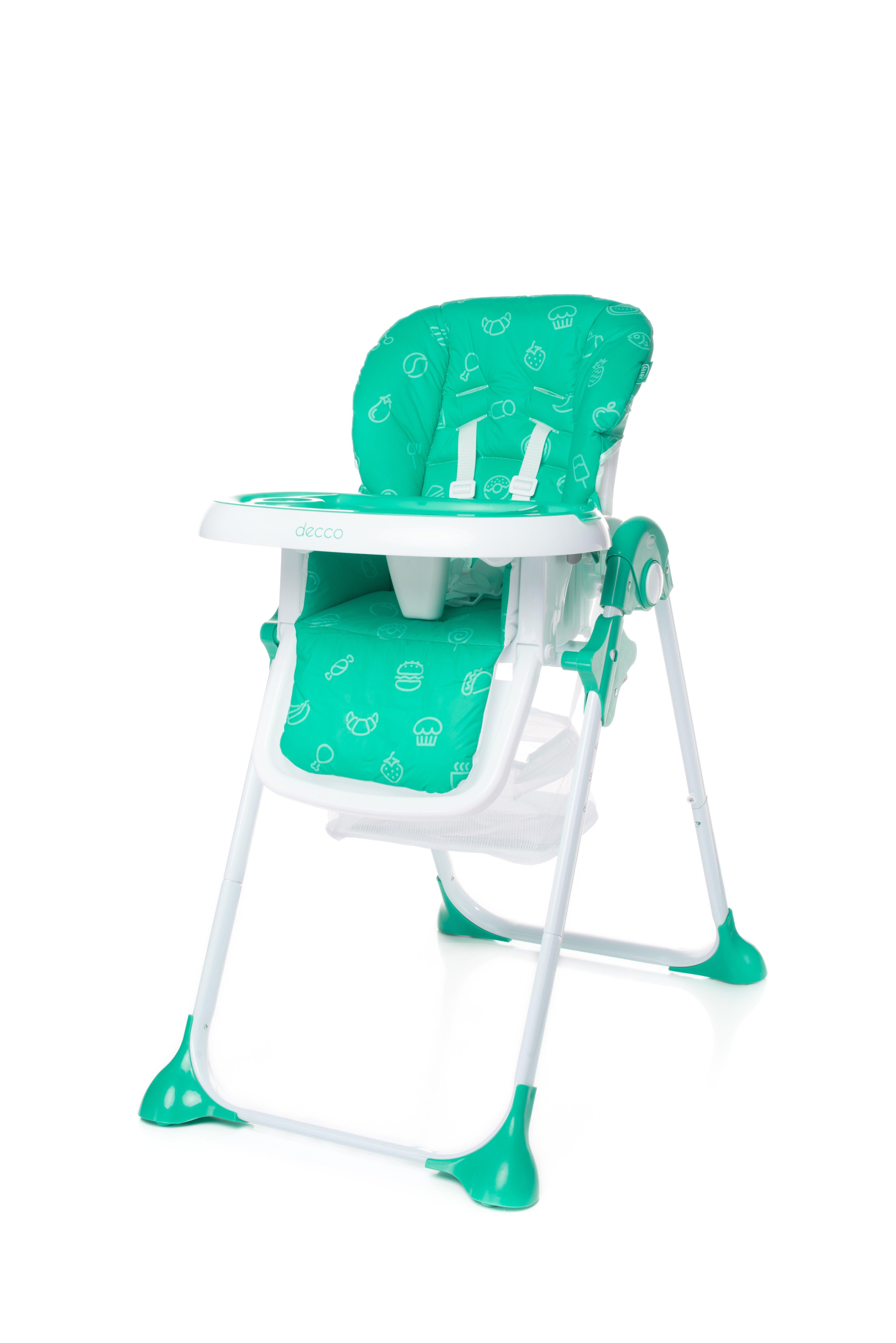 Barošanas krēsls 4BABY DECCO turkus