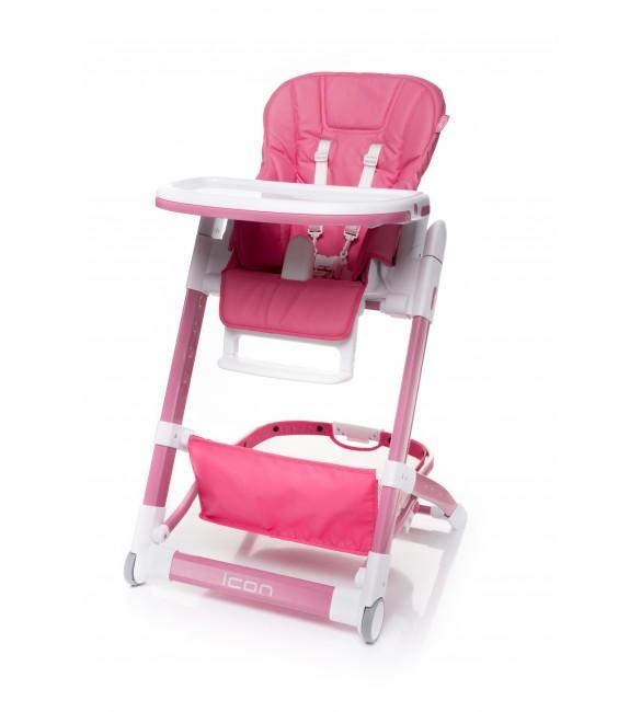 Barošanas krēsls 4BABY ICON pink
