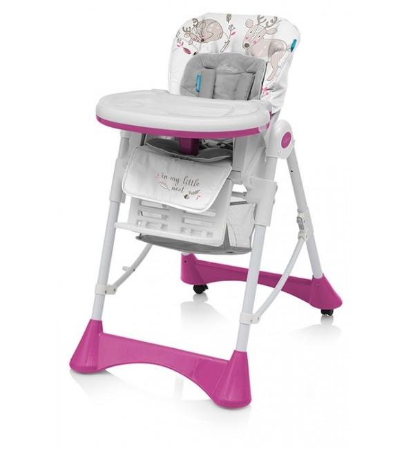 Barošanas krēsls ar velūra ieliktni Baby Design PEPE 08/DEER (briedis)