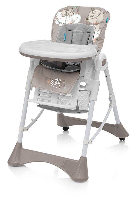 Barošanas krēsls ar velūra ieliktni Baby Design PEPE 09 FOX