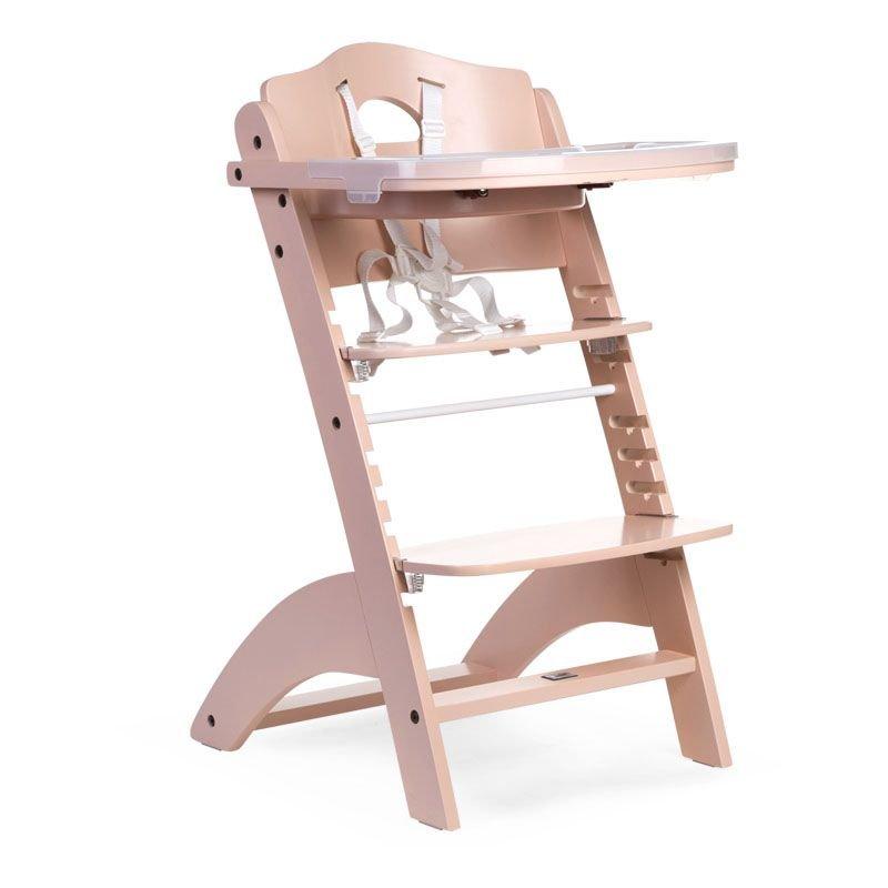 Barošanas krēsls CHILDHOME Lambda 2 Baby Grow Chair nude + Tray Cover