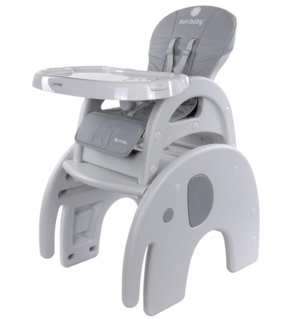 Barošanas krēsls - transformeris 2in1 SunBaby ELEPHANT B03.010.1.1