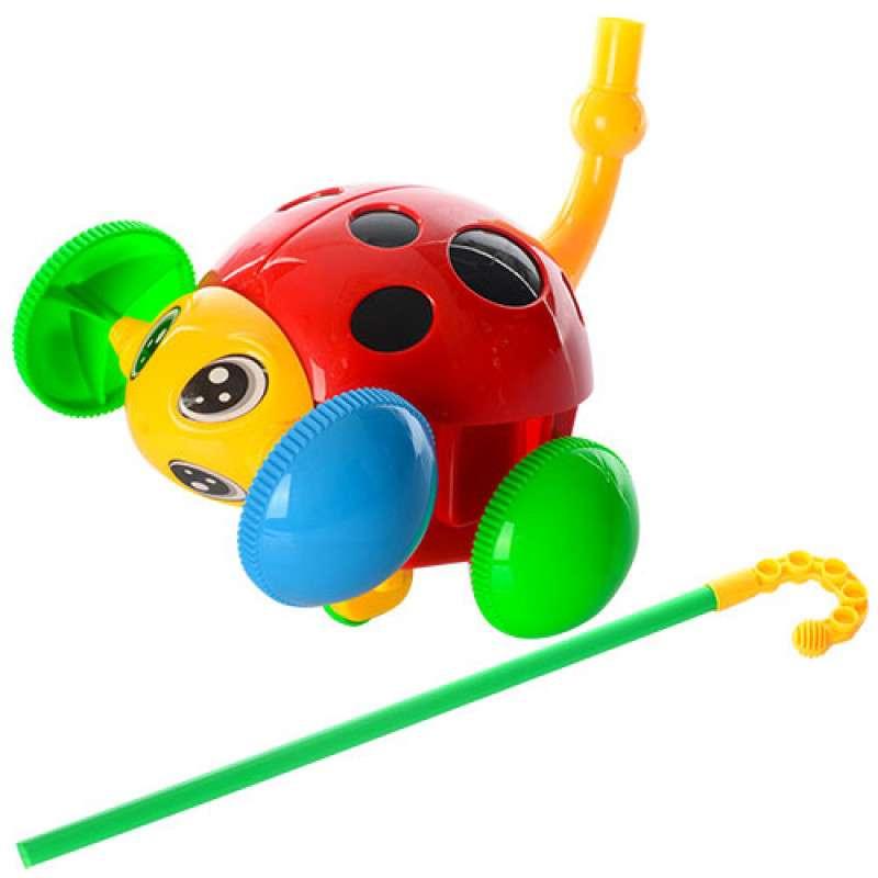 BebeBee Bērnu stumjamā rotaļlieta uz kociņa Vabole