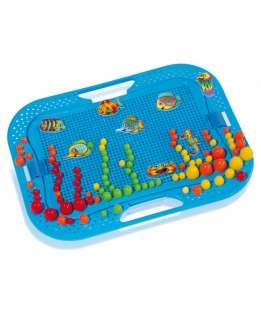 BebeBee Platter Pegs Bērnu mozaika 298 gab