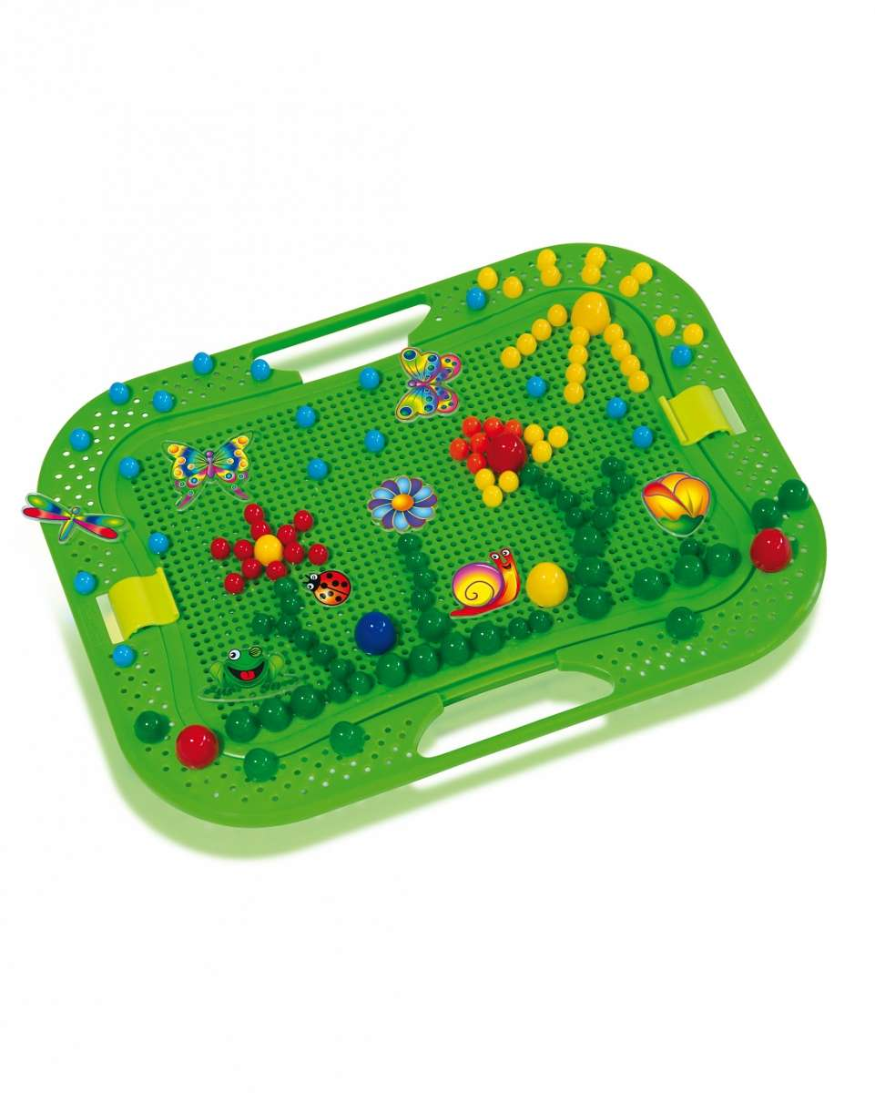 BebeBee Platter Pegs Bērnu mozaīka 298 gab