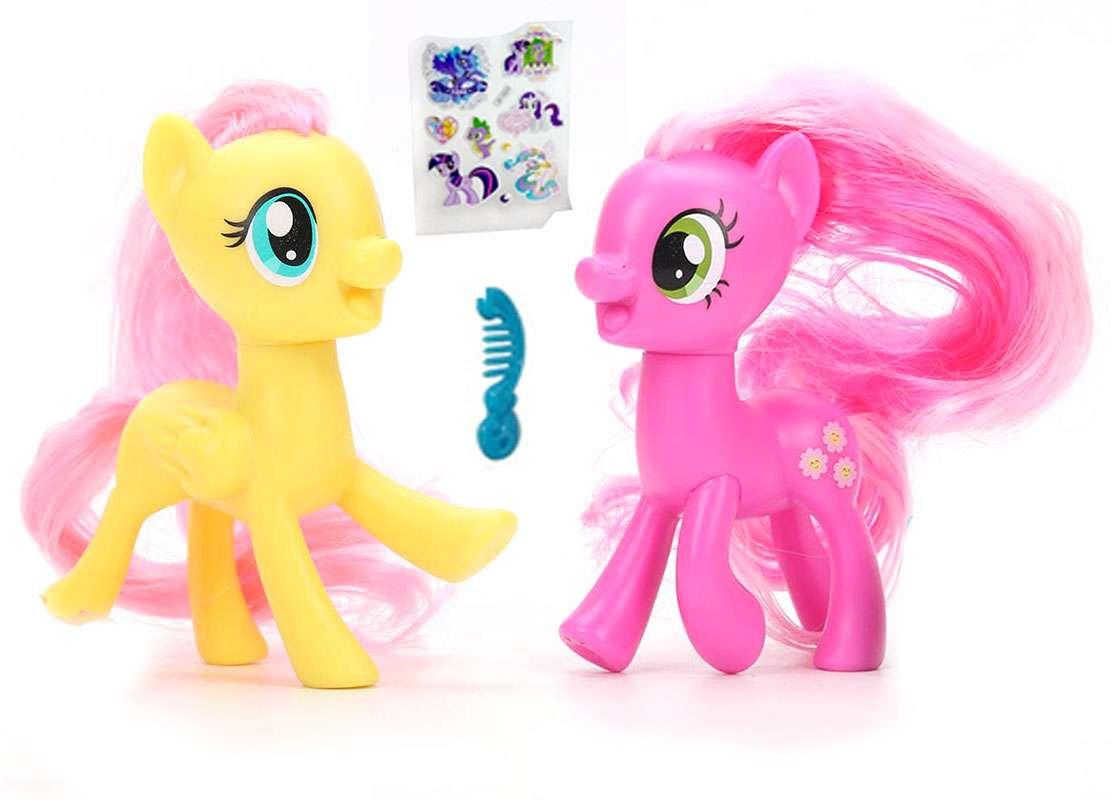 BebeBee Pony Ponijs iepakojumā
