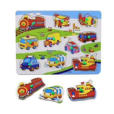 BebeBee Puzzle Attīstoša koka rotaļlieta puzzle
