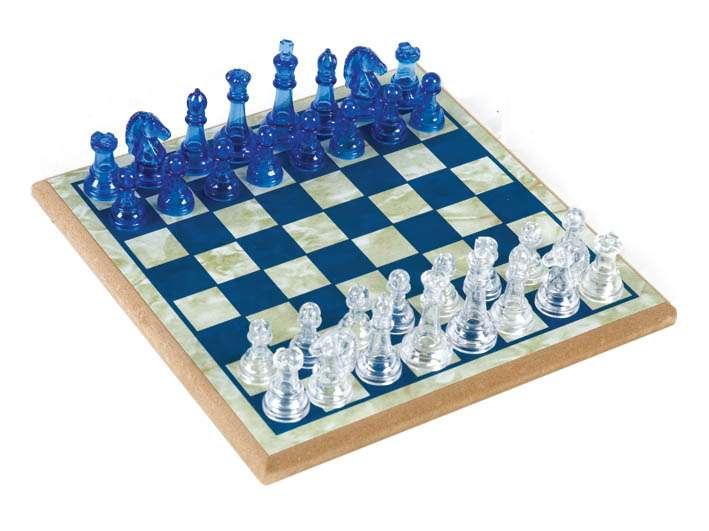 BebeBee Сrystal Chess Galda spēle šahs
