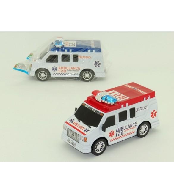 Bērna automašīna Ambulance 28x11x14 cm SA5255
